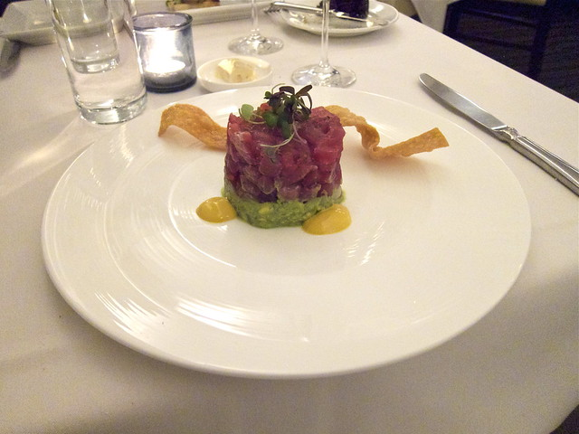 Tuna Tartare from Hawaii with Avocado, Yuzu, Radish & Mald… | Flickr ...