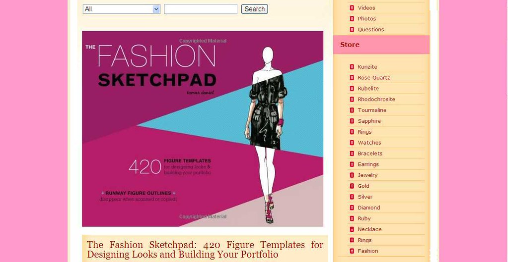 The Fashion Sketchpad 420 Figure Templates For Designing