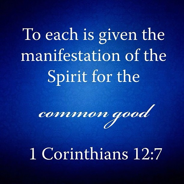 The purpose of spiritual gifts – 1 Corinthians 12-14