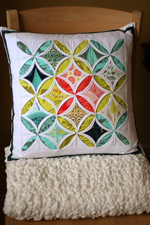Cathedral window pillow | by sixorangesocks