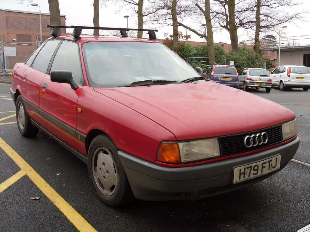 1990 Audi 80 2.0 E. | Spotted early last year, this is now ...