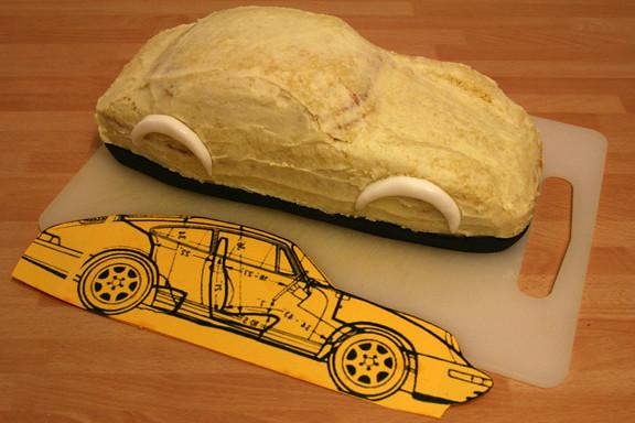 Porsche Cake Pan