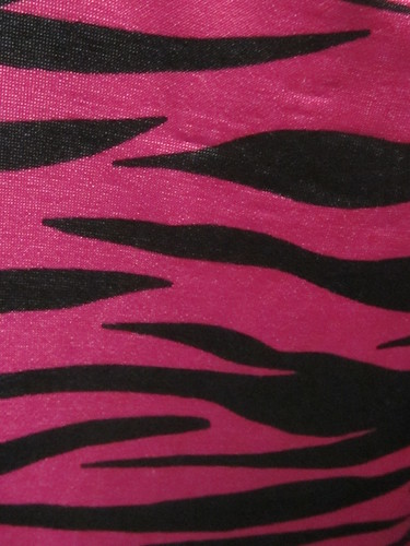 Pink and Black Zebra Print | by shaire productions