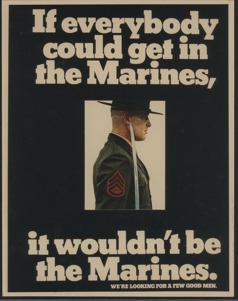 If Everybody Could Get In the Marines... | Photographic ...