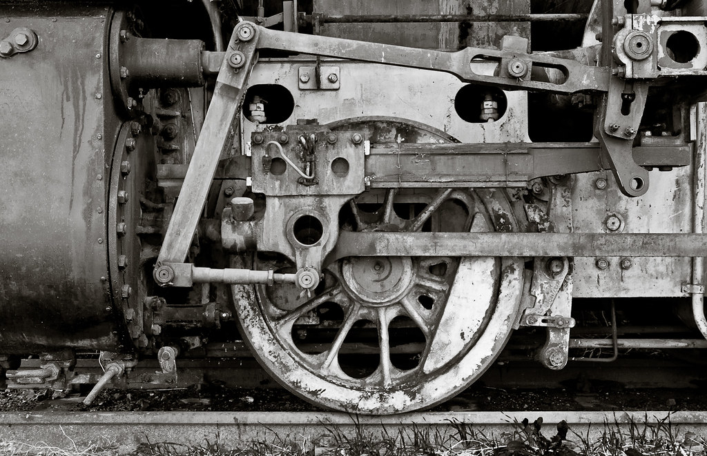 The beauty of old machinery | I love old, used machinery ...