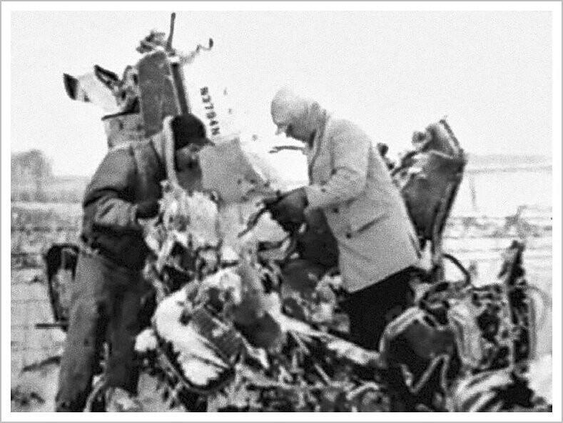 Buddy Holly Beech Bonanza Light Aircraft Crash Sheriff S