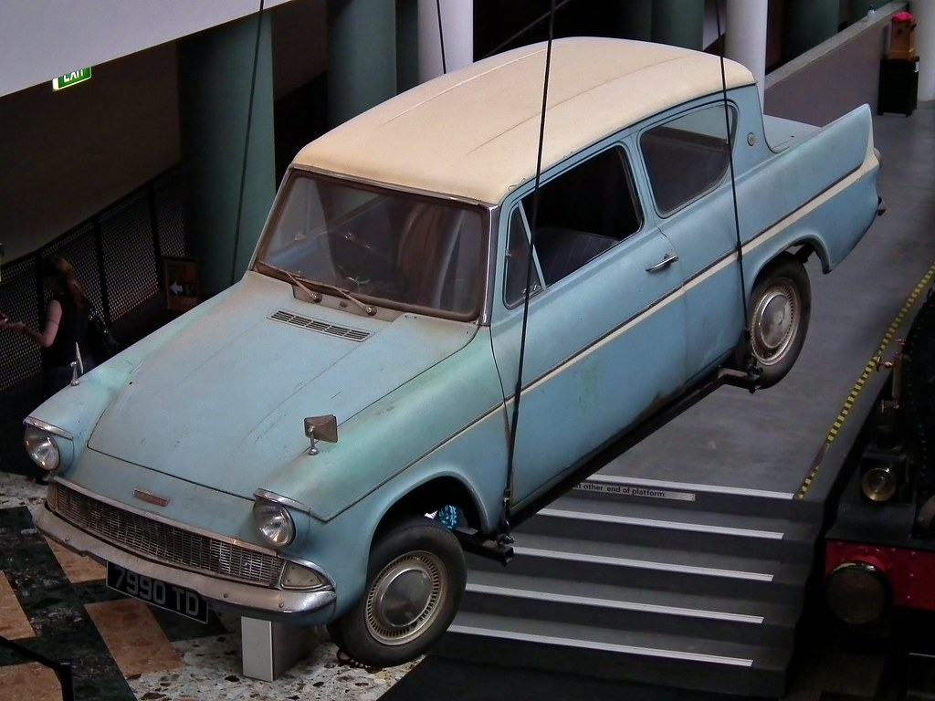 ford anglia 105e deluxe sedan harry potter flying car flickr. Black Bedroom Furniture Sets. Home Design Ideas