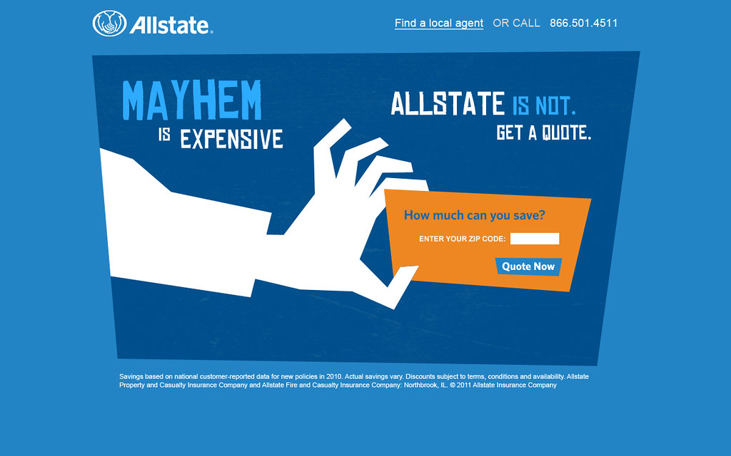 Mayhem allstate quotes