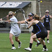 365@VU:  95 - Sophomore Katie Mastropieri scores on a behind the back shot against Presbyterian College during a 19-5 win at the Vanderbilt Lacrosse Complex