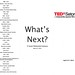 Program from TEDx Seton Hall
