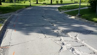 North Quad Drive Repair