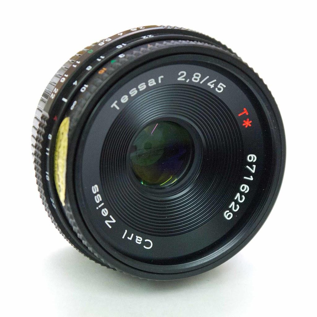 Carl Zeiss Tessar 2 8 45 Carl Zeiss Pancake Lens For The