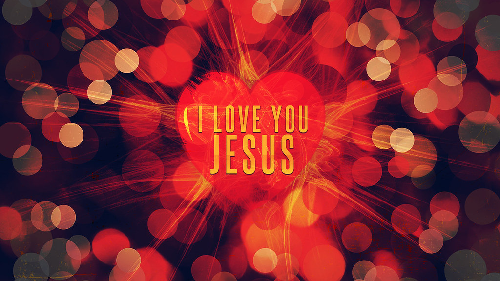 Love You Jesus Wallpaper : I love you Jesus For more wallpapers visit www.facebook.co? Flickr