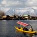 Kashmir 2012   Srinagar   Dal Lake Against The Himalaya
