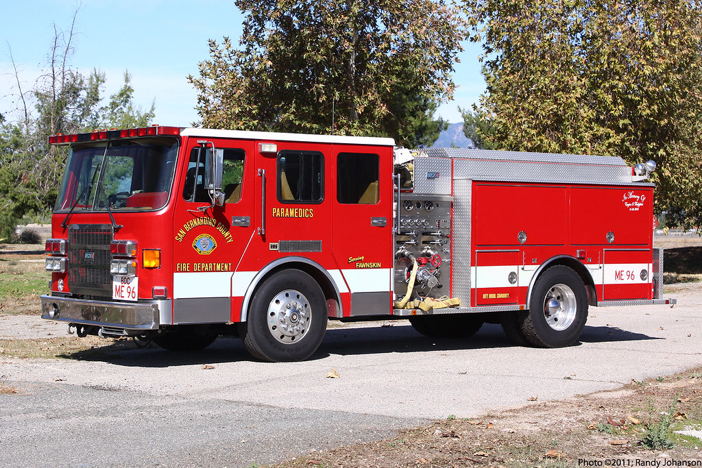 Bdc Medic Engine 96 San Bernardino County Fire