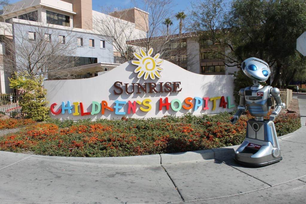 MetroBot at Sunrise Children's Hospital | metro bot, metro ...
