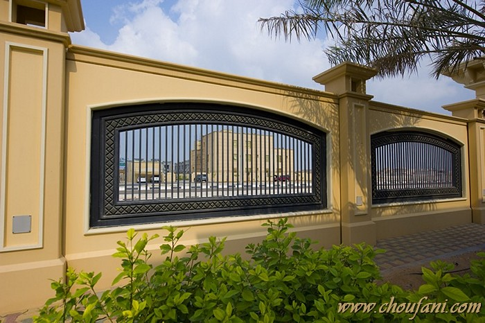 Boundary wall 2b choufani wrought iron interior design for House outer wall design