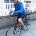 Masheka Wood on his bike
