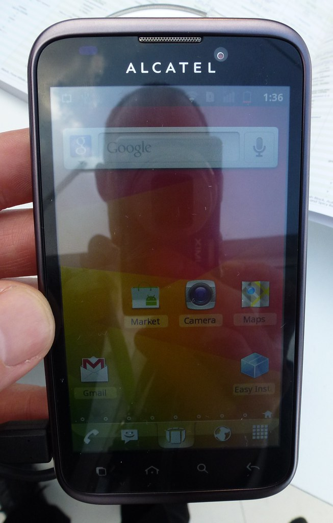 Alcatel one touch 995 (4.3-inch flagship) | Alcatel one ...
