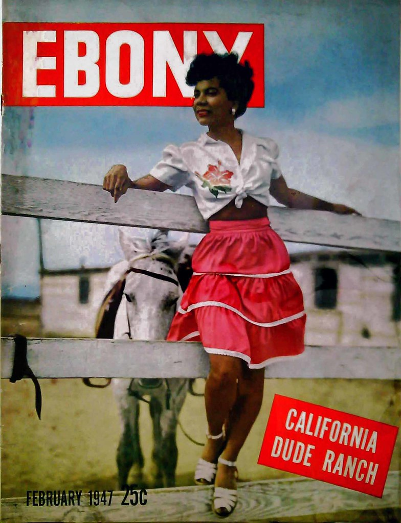ebony magazine cover for february, 1947 | i thought others m… | flickr