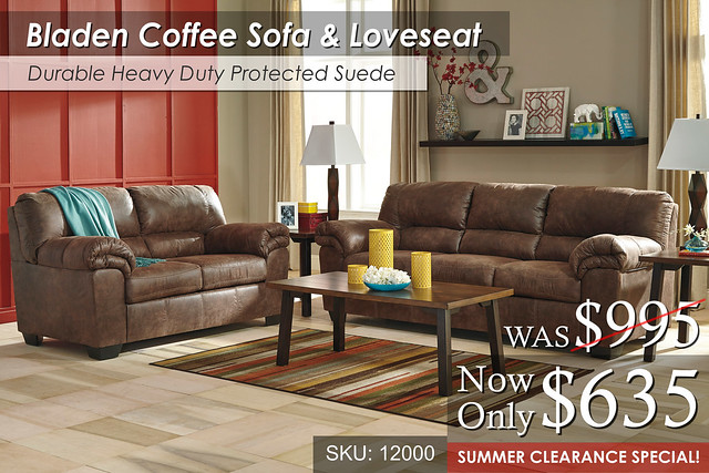 Bladen Coffee Living Set - summer