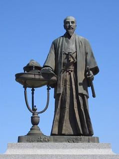 Sakuma_Shozan_statue