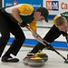 Napanee, ON Feb 12 2011 M&M Canadian Juniors Team NO Second Kyle Toset & Lead Joel Adams. Michael Burns Photo Ltd.