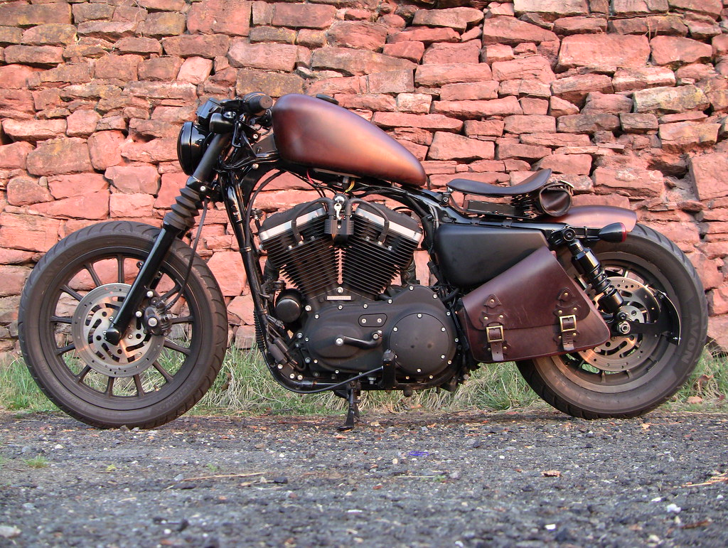 Cd F B on Sportster Chassis
