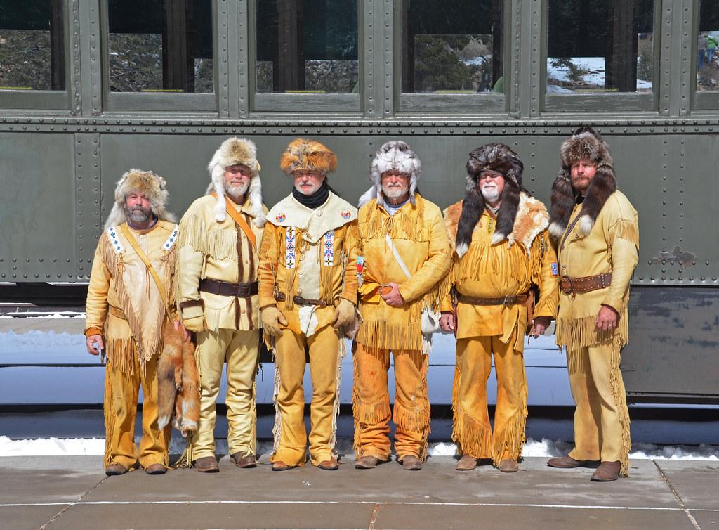 Grand Canyon Railway >> Arizona Centennial Train: Bill Williams Mountain Men at Gr ...
