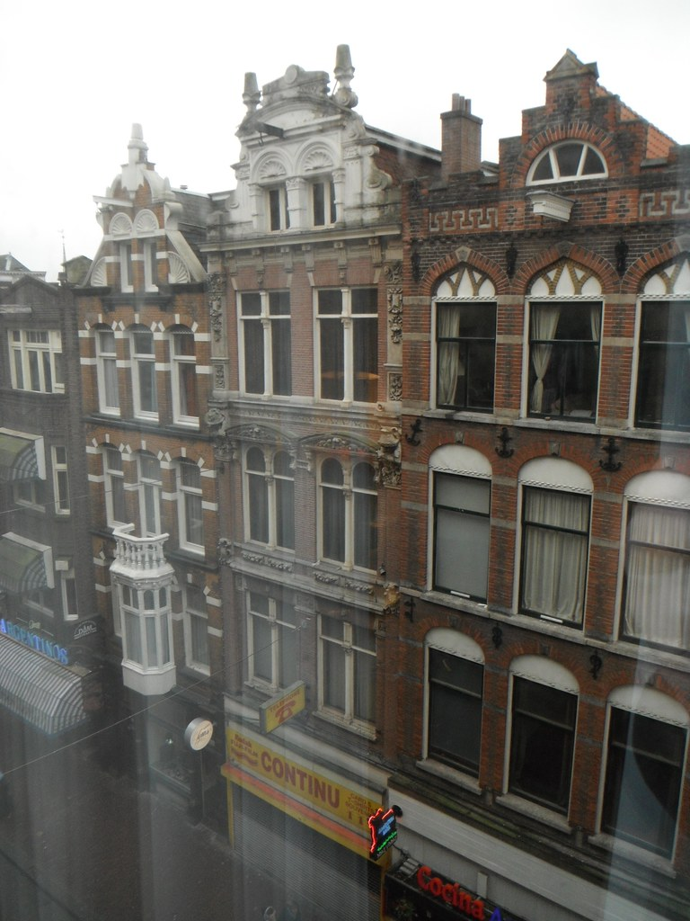 Dam Square Amsterdam View From Hotel Kevin Oliver Flickr