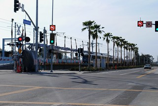 847 MTA Expo Line Looking West At Farmdale Sta. 20120219 | by Metro Transportation Library and Archive