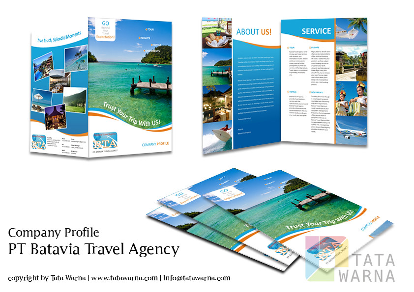 Company Profile For New Travel Agency