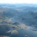 Glacial Landscape - Llyn Llydaw with it's causeway in Cwm Dyli, Snowdon's eastern cwm, Snowdonia, North Wales