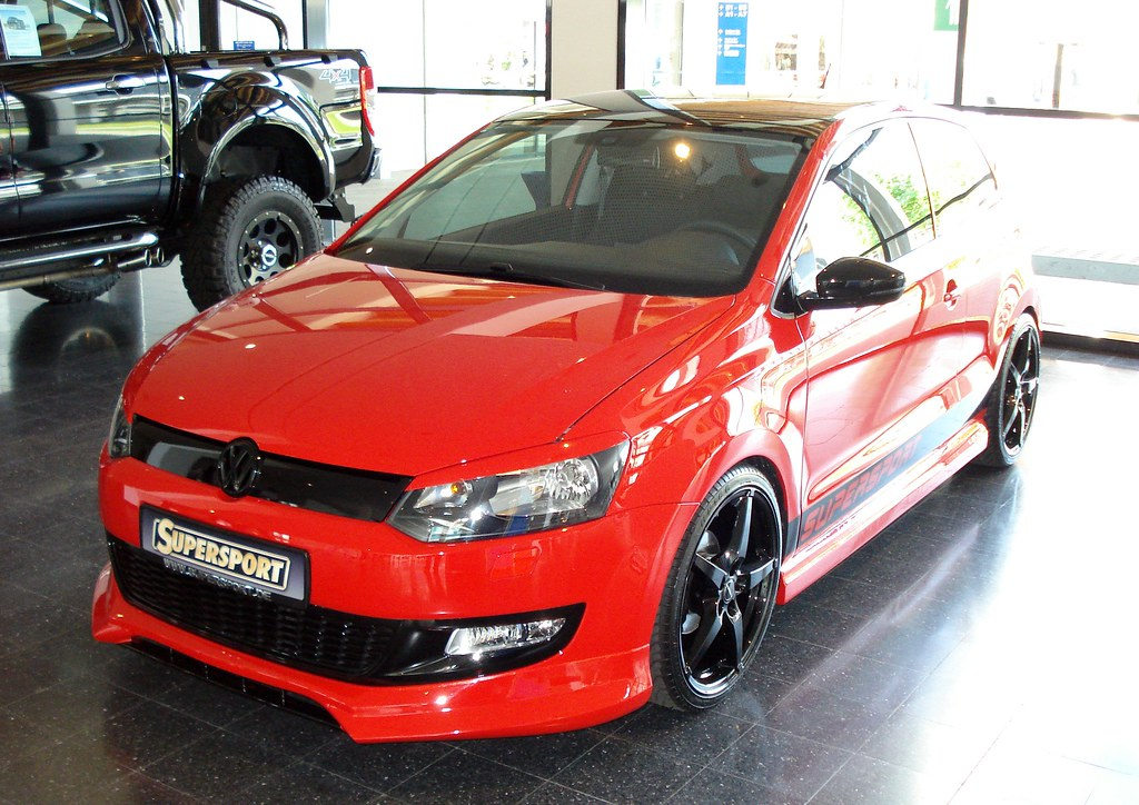 vw polo 6r supersport rot 1 gesehen am auf. Black Bedroom Furniture Sets. Home Design Ideas