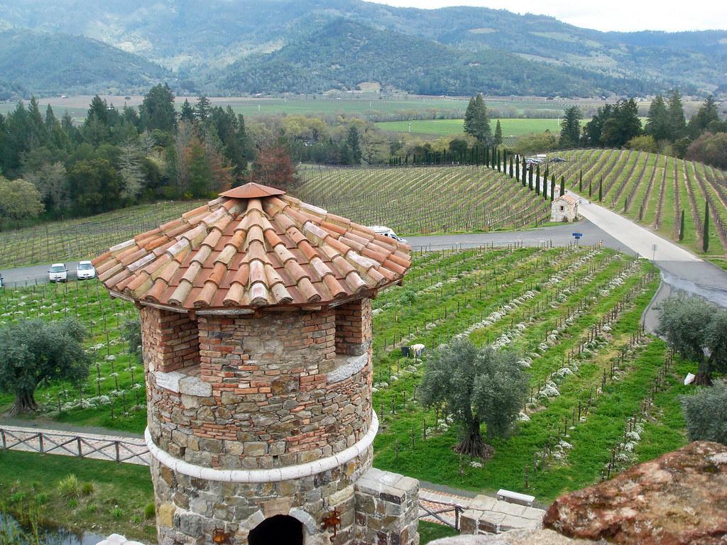 Castle Winery Napa Valley Castello Di Amorosa Castle
