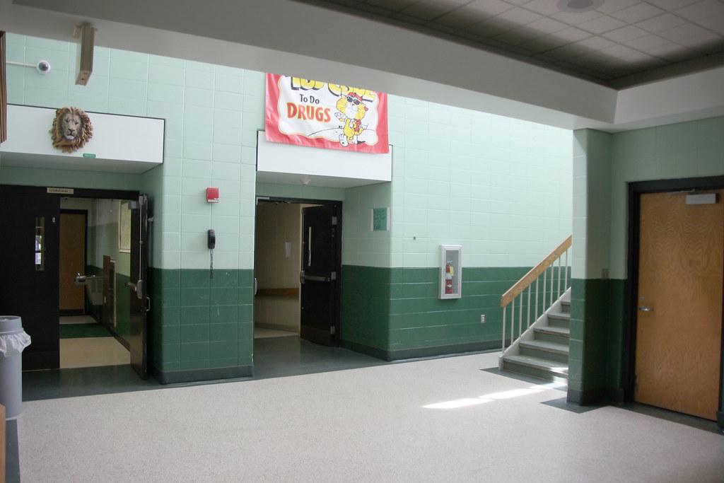 bms gymnasium lobby 2016 historic bremen flickr. Black Bedroom Furniture Sets. Home Design Ideas