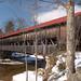 Albany covered bridge , Kancamagus Hwy, Conway, New Hampshire.