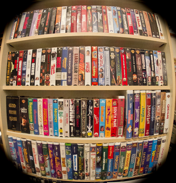 Vhs Tape Collection Flickr Photo Sharing