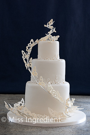 Butterfly Wedding Cake Debbie Brown Design Www Miss