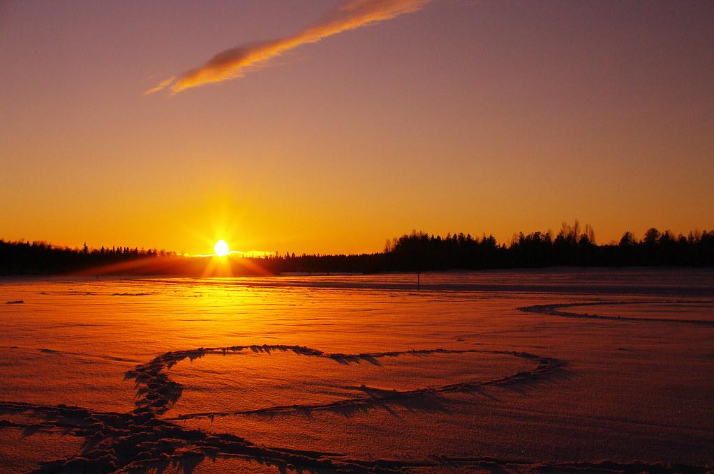 Coup de coeur sur la lemmenjoki sympa de marcher sur une r flickr - Coup de coeur in english ...