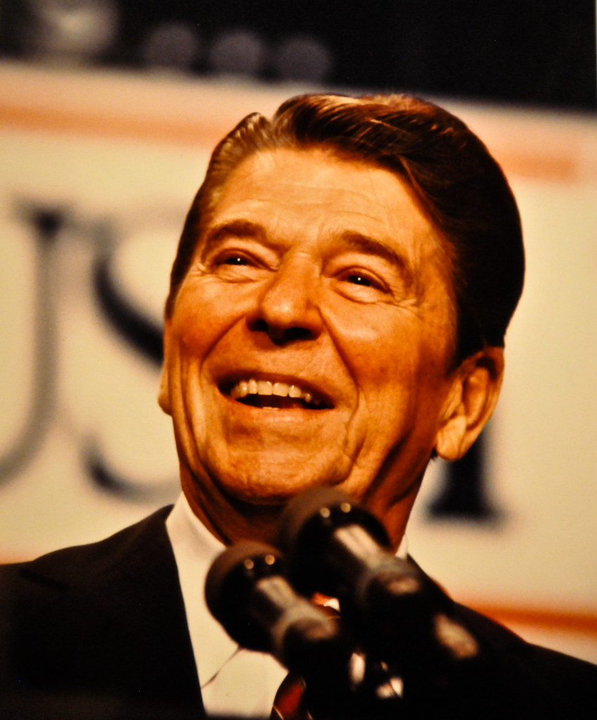 Ronald Reagan Wins Reelection In 1984 Photo By Dirck Hal