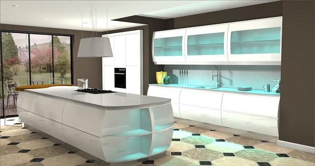Second Nature Kitchens Fresco White