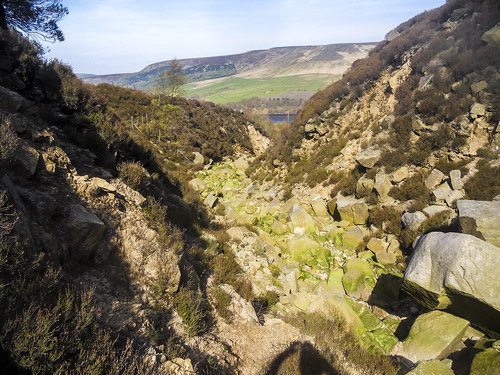 Wildboar Clough lower section