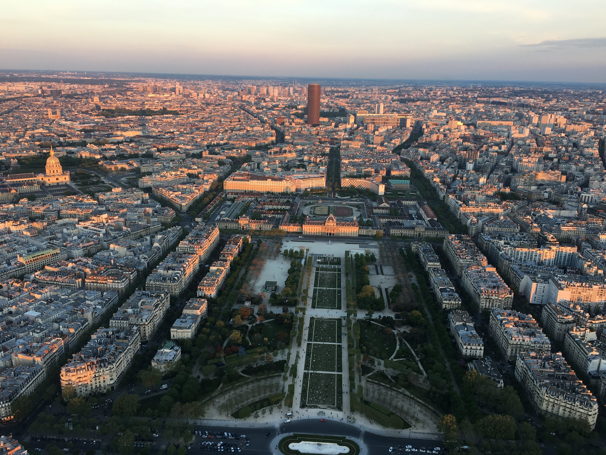 Paris - Eiffel Tower - Sunset Over Paris - Champ de Mars
