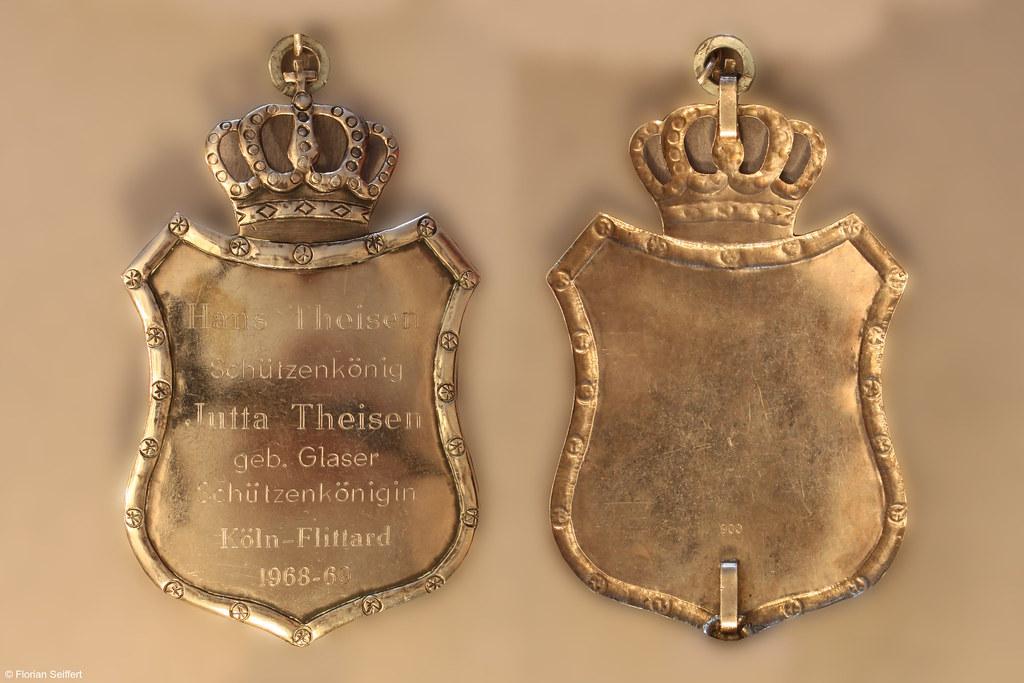 Koenigsschild Flittard von theisen hans aus dem Jahr 1968