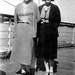 Sisters on Ship to Europe - 1929