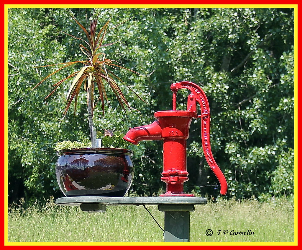 old water pump vieille pompe eau philipsburg lake flickr. Black Bedroom Furniture Sets. Home Design Ideas