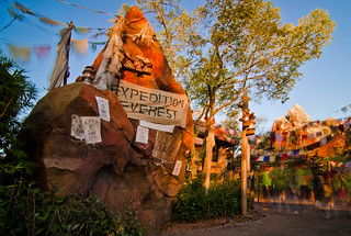 Expedition Everest Sunset (37 Second Exposure - 9 Stop ND Filter) | by Tom.Bricker