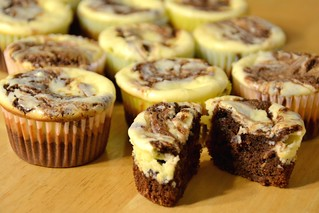 02/29/12 - Cheesecake Brownie Cupcakes | by trpnblies7