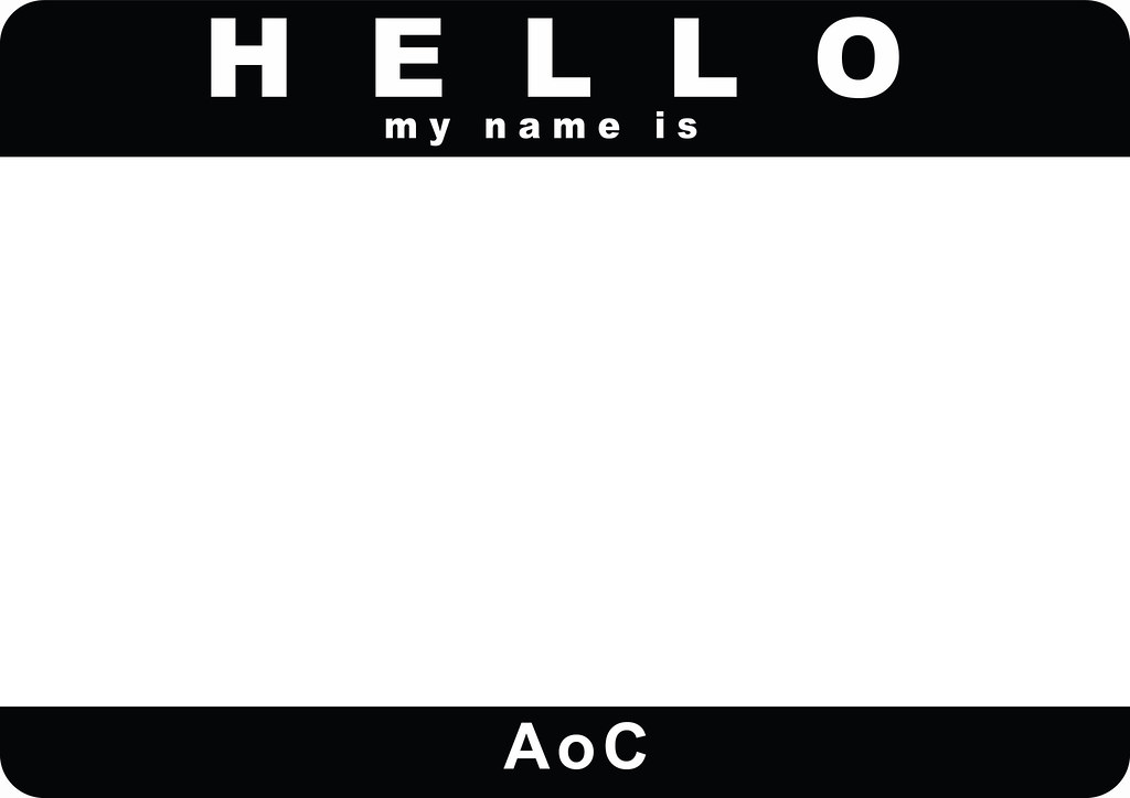 1x a4 hello my name is black template soar aoc csk flickr. Black Bedroom Furniture Sets. Home Design Ideas